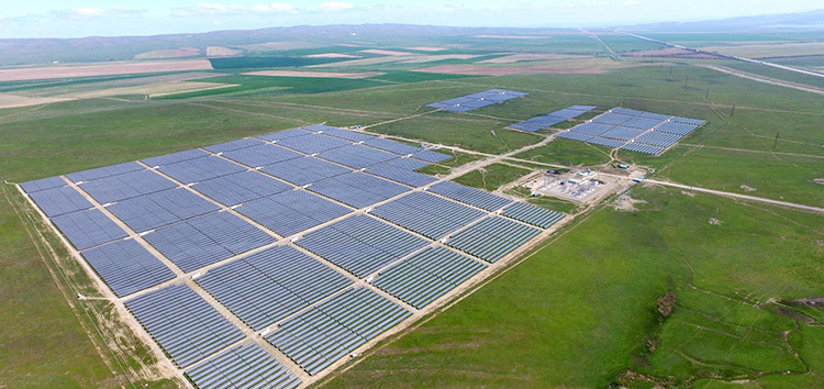 In order to support Kazakhstan's plans for a more diversified energy mix, the EBRD is financing the Zhangiz Solar LLP for the development, construction and operation of the 30MW installation. Image: EBRD