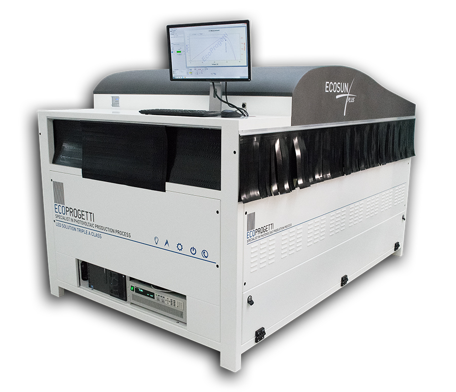 Ecosun Plus is the solution for precise and reliable I-V Curve tests of both standard PV modules and mainly for testing all new high efficiency cells technology in PV modules. Image: Ecoprogetti