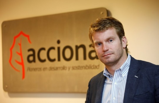 José Ignacio Escobar, former general manger of Acconia Energy Chile, is now president of ACERA after serving as vice president. Source: Electricidad