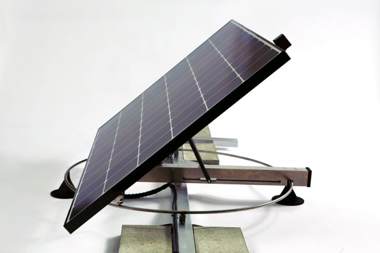 PV Booster is the only dual-axis solar tracker strategically designed and built for the commercial and industrial rooftop sector. Source: Edisun Microgrids
