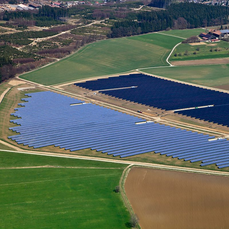 Encavis' Krumbach solar farm. Image: Encavis.