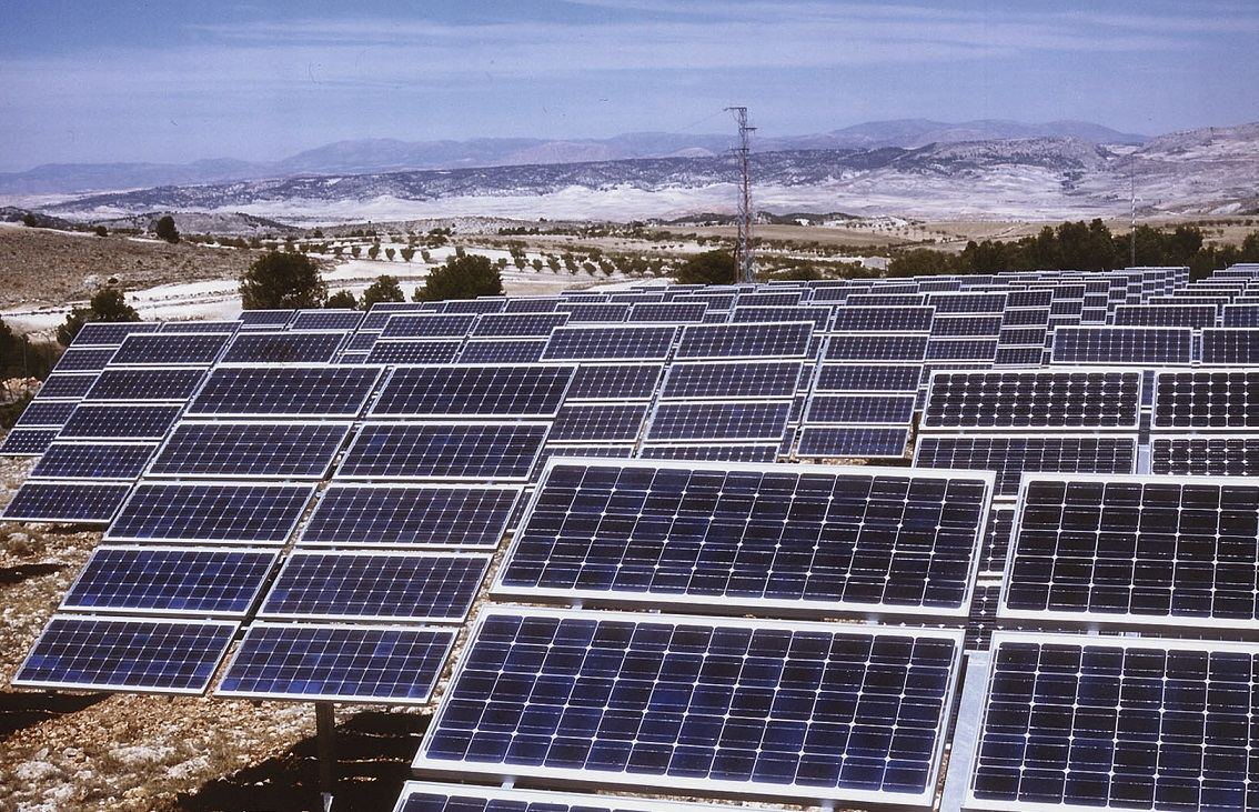 An Endesa solar project in Andalucía, Spain. Image: Endesa.