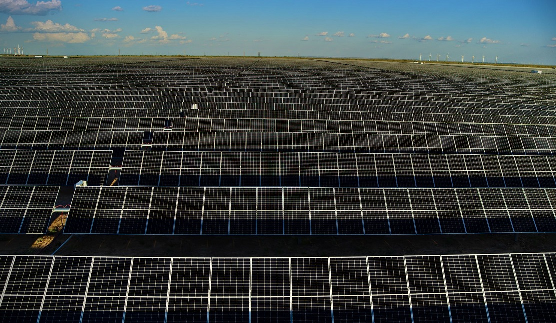The 497MW Roadrunner solar plant in Texas. Image: Enel Green Power.
