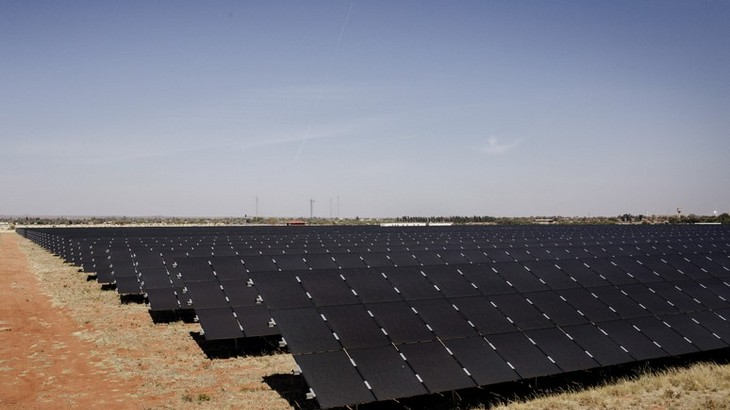 Enel Green Power's 10MW Upintgon project in South Africa's Northern Cape. Source: Enel