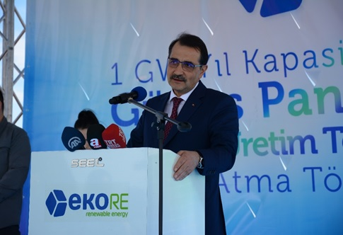 Energy and Natural Resources Minister of Turkey Mr. Fatih Dönmez. Image: EkoRE