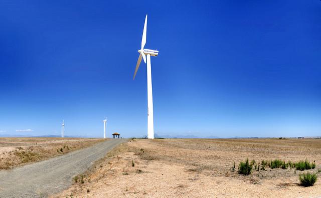 Eskom Generation's pilot wind-farm facility at Klipheuwel in the Western Cape, South Africa. Source: Flickr/Warren Rohner