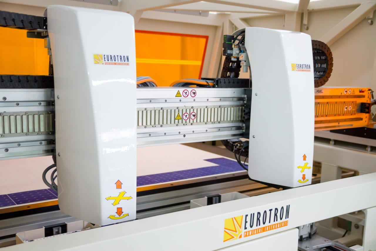 Eurotron is a developer of back-contact solar cell processing equipment. Image: Eurotron