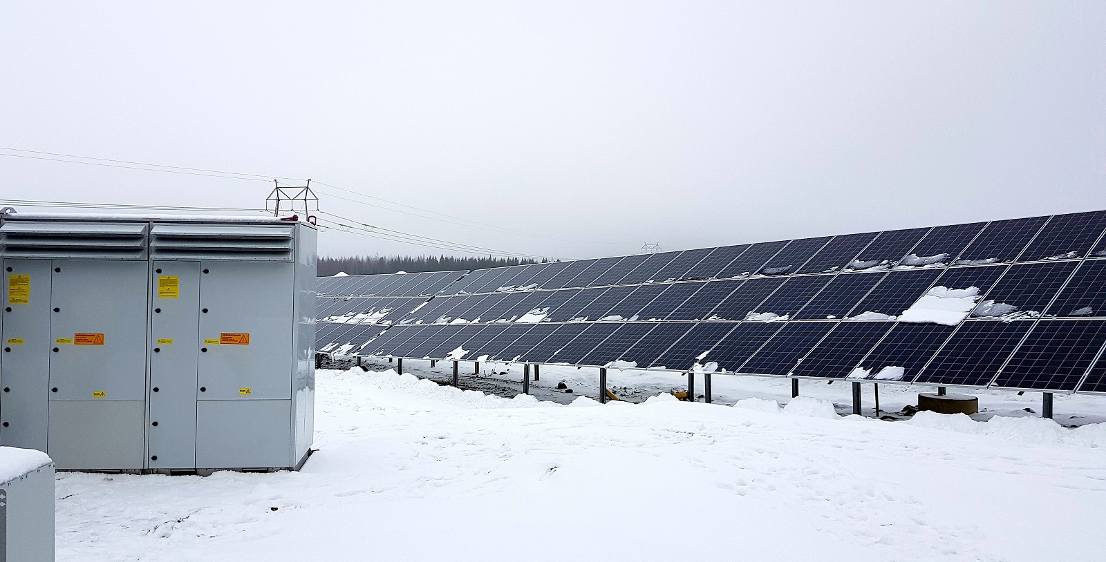 The 4MW Lemene solar farm in Finland. Image: FIMER.