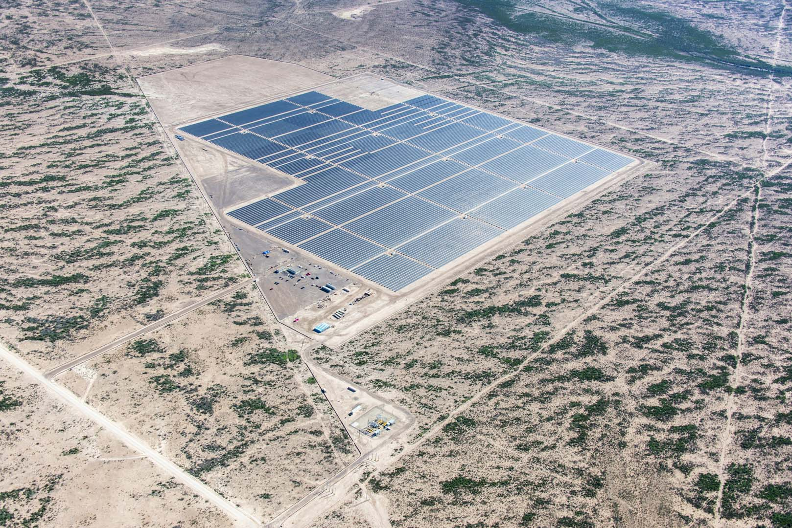 First Solar's Barilla project in Texas. Source: First Solar.