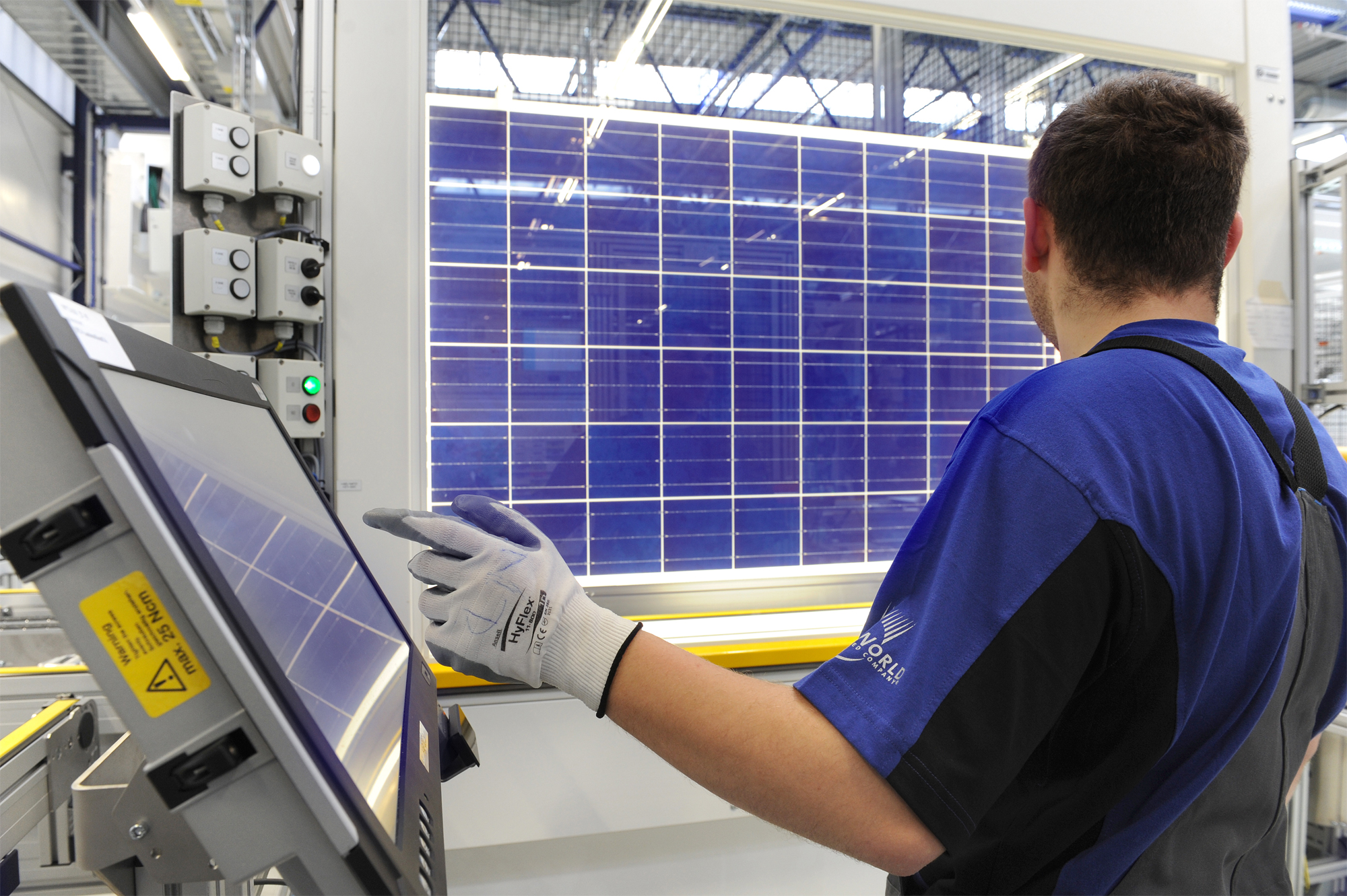 SunPower's retooling of the former SolarWorld site in Oregon is one source of future jobs growth. Credit: SolarWorld Americas.