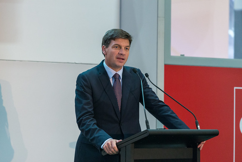 Federal energy and emissions reductions minister Angus Taylor. Source: Flickr, Cebit Ausrtalia