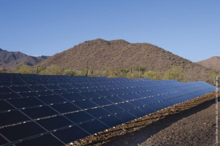 The three utility-scale projects —located in Nevada and California — are all owned by Capital Dynamics. Image: First Solar