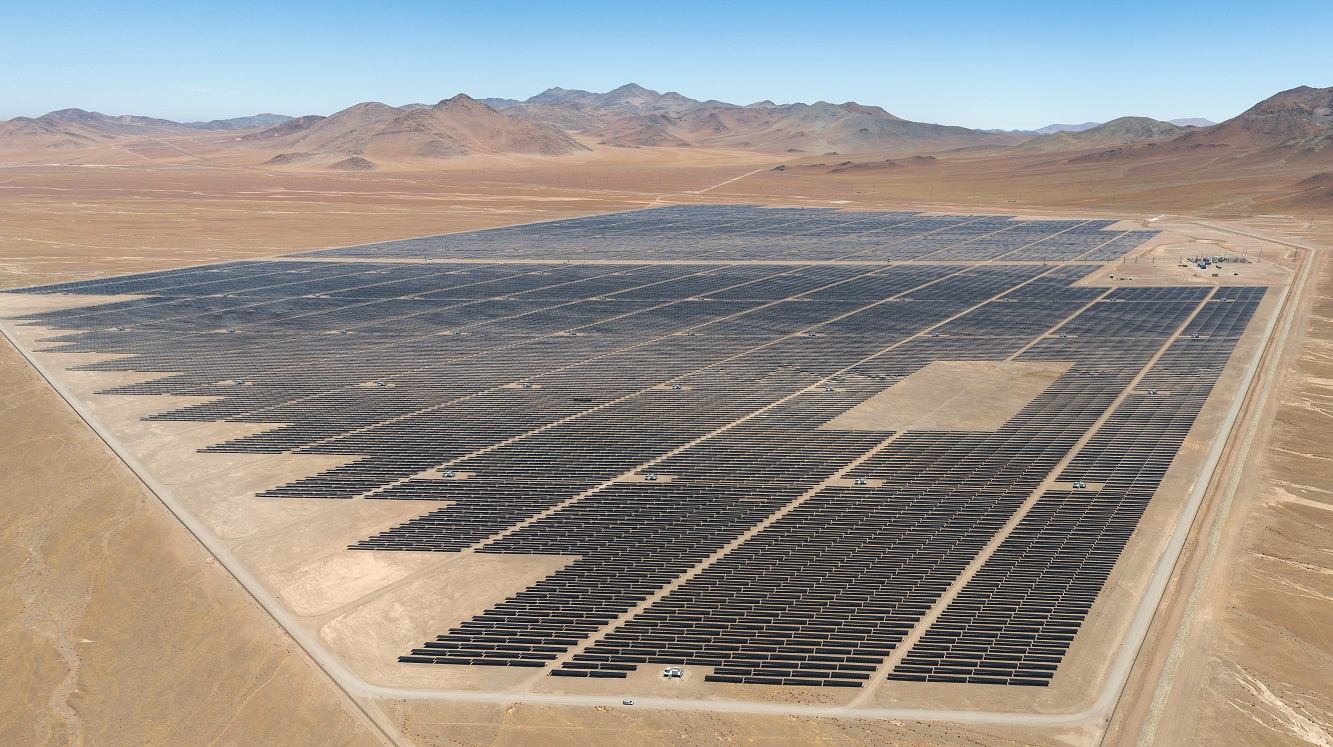 The 141MW Luz del Norte facility is helping to maintain grid reliability and stability in Chile. Image: First Solar.