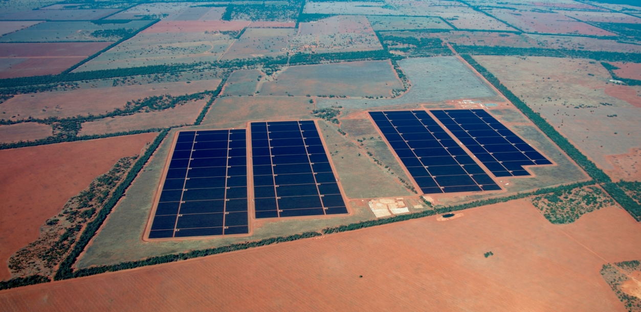 As part of the partnership plans QIC will acquire the two largest operational solar plants in Australia, Nyngan (102MW) and Broken Hill (52MW) in New South Wales. Credit: First Solar