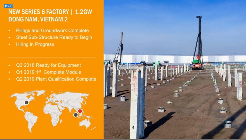 Both facilities have an initial nameplate capacity of 1.2GW each. Image: First Solar