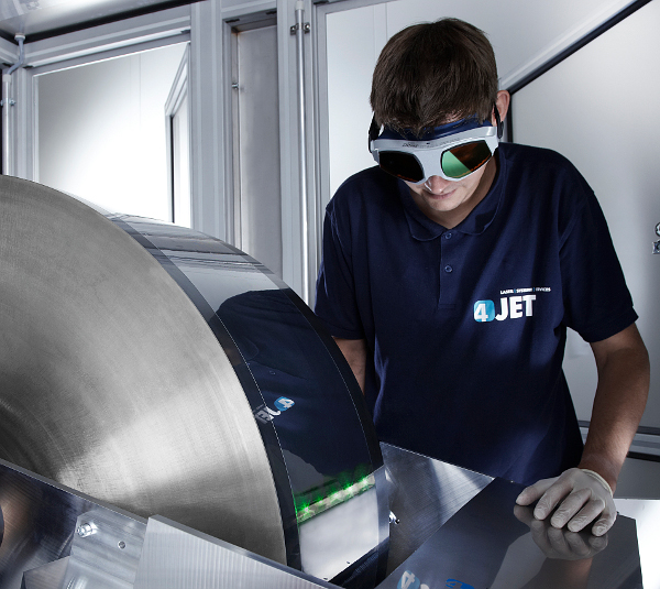 4JET Technologies said it had spun-off its laser micro-machining technology that included PV thin-film technology into a  separate company, 4JET microtech GmbH & Co KG.