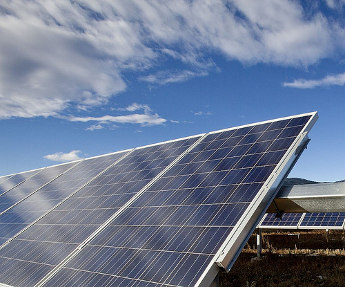 Origin now also has the option to develop a further 35MW of capacity at the Clare Solar Farm. Credit: FRV