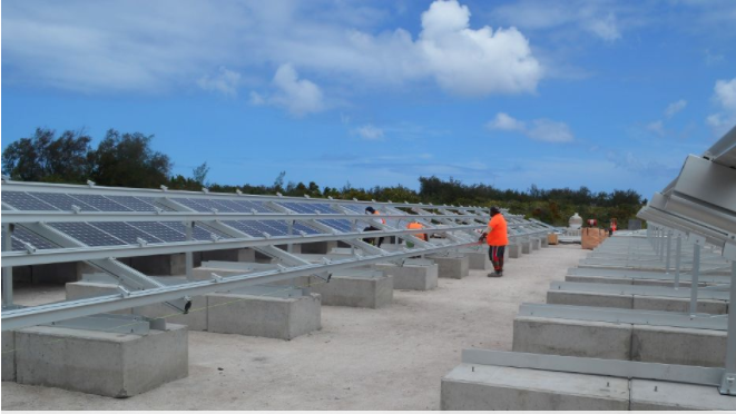 Up to five solar PV power plants with batteries will be constructed. Credit: ADB
