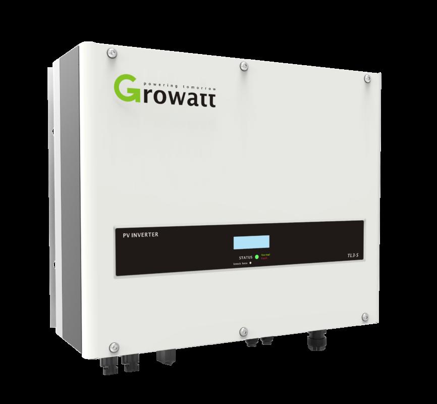 Growatt's 8K-11KTL3-S three-phase inverter.