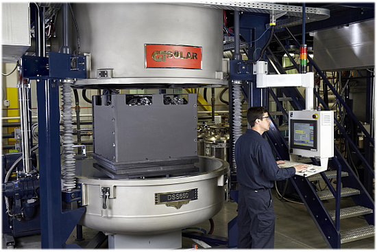 The company said that it would be launching its new 'DSS 20M,' at SNEC in Shanghai, later in May. China remains the largest market for multicrystalline ingot/wafer production and overcapacity seen in 2012 has only recently returned to tight supply. Credit: GTAT