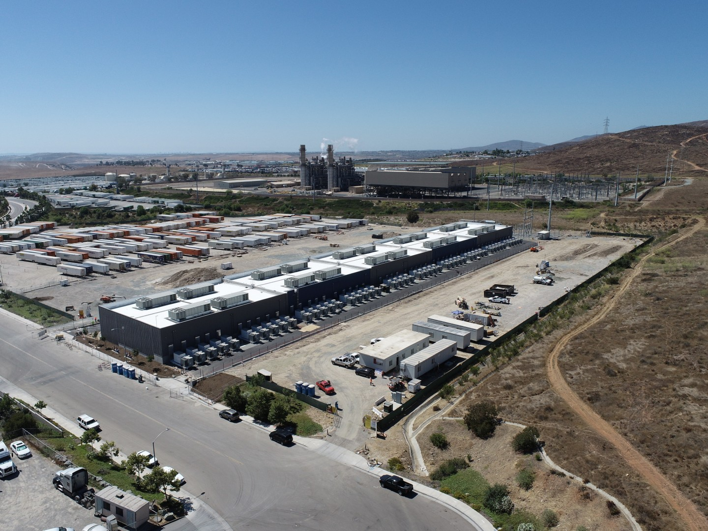 At the time of writing the Gateway Energy Storage project (pictured) has a capacity of 230MW, but this will reach 250MW by the end of August 2020. Image: LS Power.