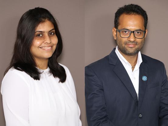 Payal Saxena, senior consultant, Strategic Advisory Team, and Ali Imran Naqvi, vice president of advisory and engineering firm Gensol Group