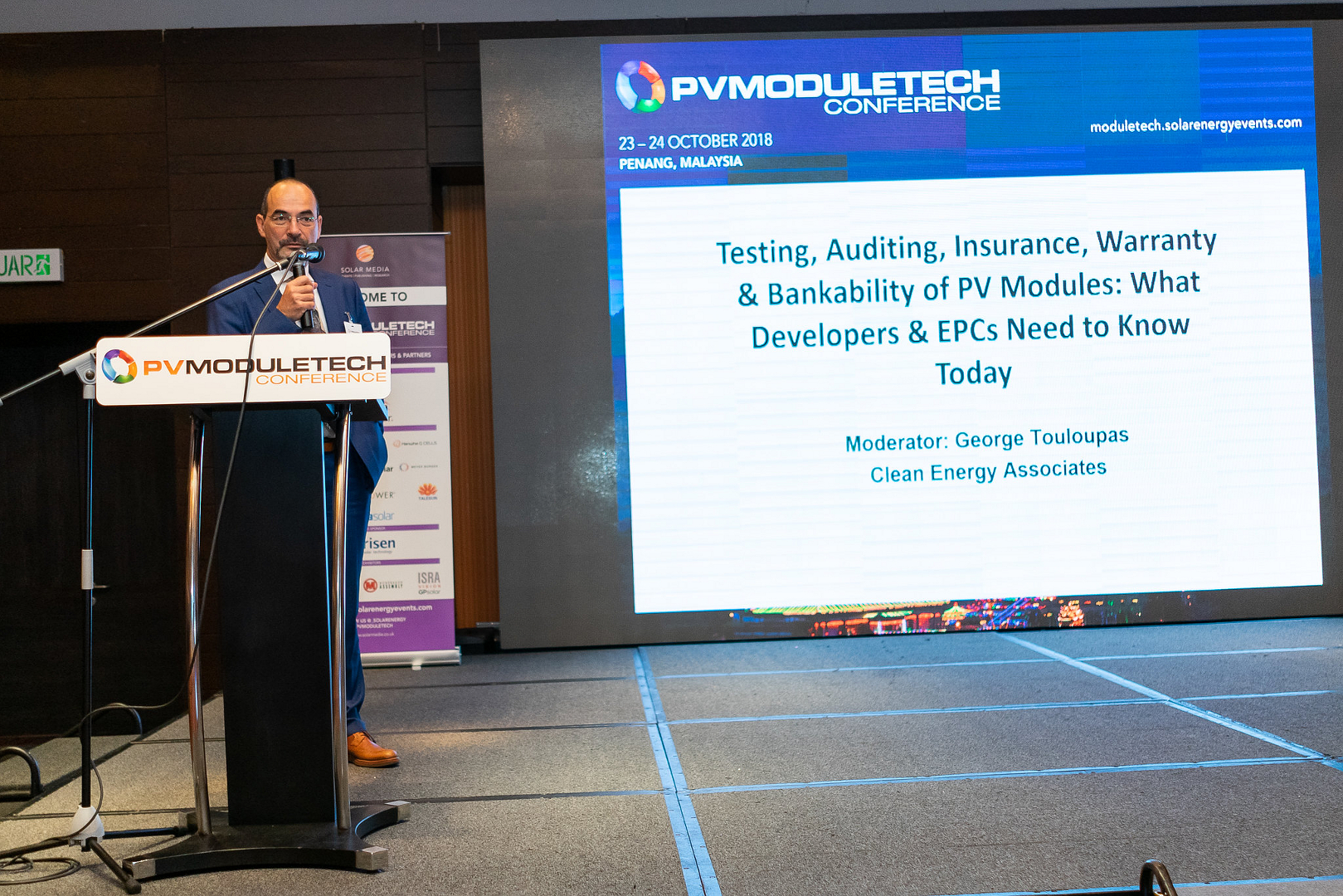 Recently, PV-Tech took the opportunity to catch up with George Touloupas, the Director of Technology and Quality at Clean Energy Associates and a key partner at the forthcoming PV ModuleTech 2019 meeting in Penang in October this year.