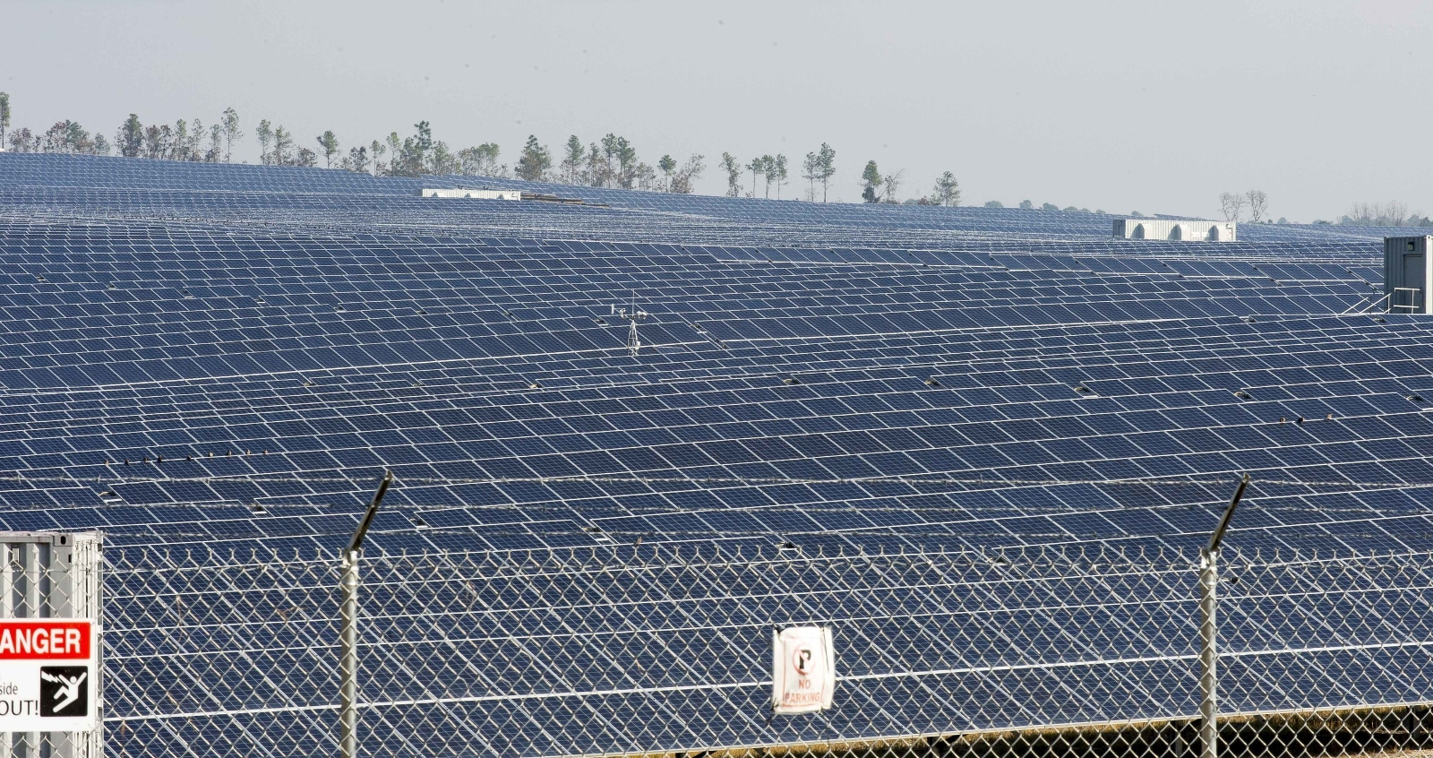 The 139MW Warner Robins facility will be the largest single solar project to date to be constructed by Georgia Power. Image: Georgia Power