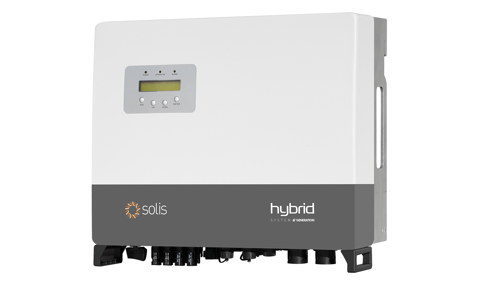 This new high voltage hybrid inverter also carries the latest 5th Generation Solis inverter technology, making it one of the most technically advanced hybrid inverters available, according to the company. Image: Ginlong Solis