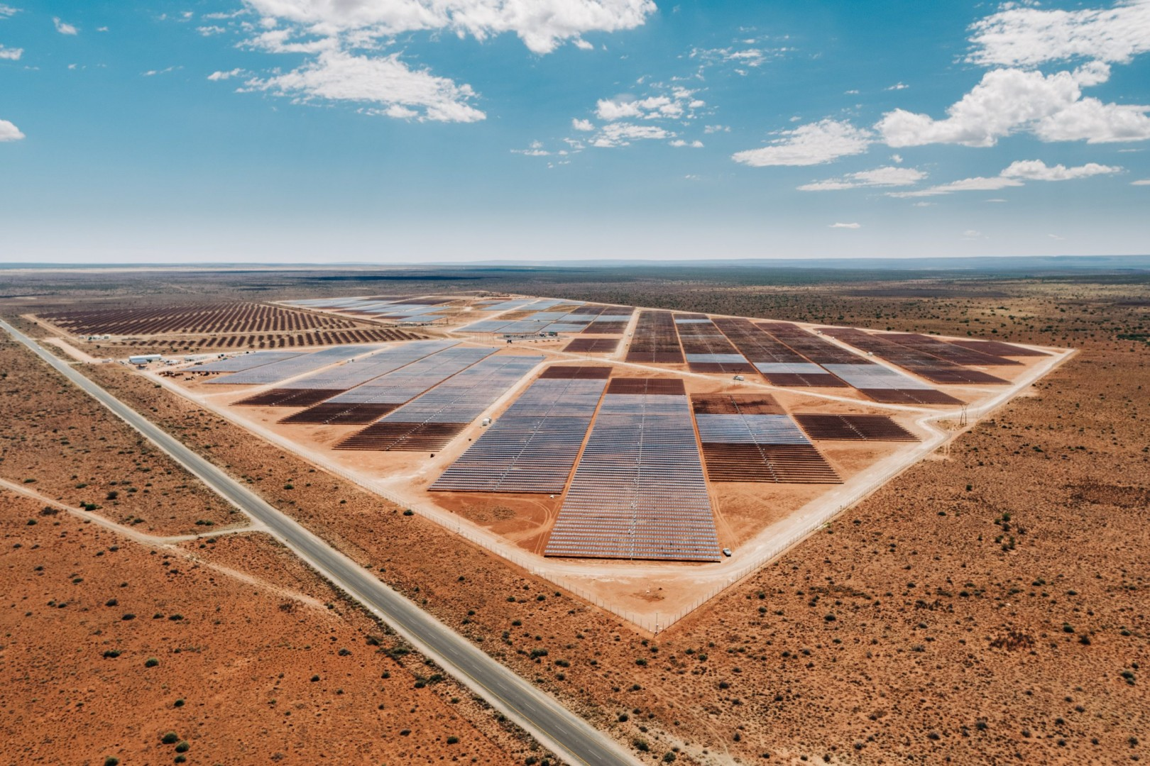 The Greefspan solar farm in South Africa, completed by Gransolar last year. Image: Gransolar Group.