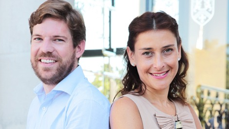 GreenWish Partners co-founders Charlotte Aubin-Kalaidjian and Gilles Parmentier. Source: GreenWish Partners