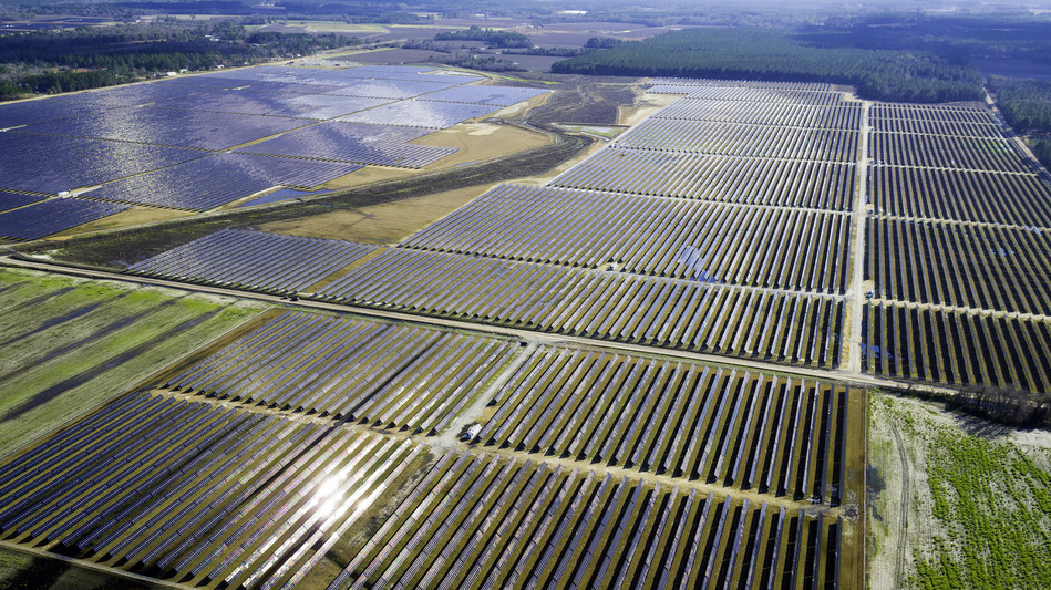The solar portfolio will be distributed across four locations in southern Georgia and will provide low-cost, renewable power to more than 35,000 EMC households annually. Image: Green Power EMC