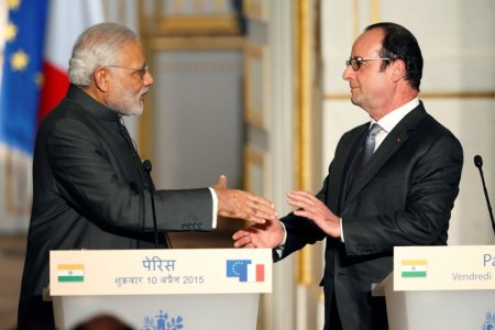 French president and Indian prime minister Narendra Modi will launch the Solar Alliance. Twitter: Grenergys Global