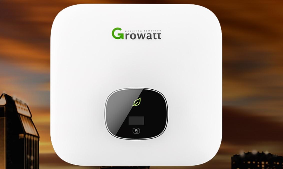 The Growatt MIN 2500-6000TL-XH storage ready inverters have two MPP trackers and 1.4 DC/AC ratio. Image: Growatt