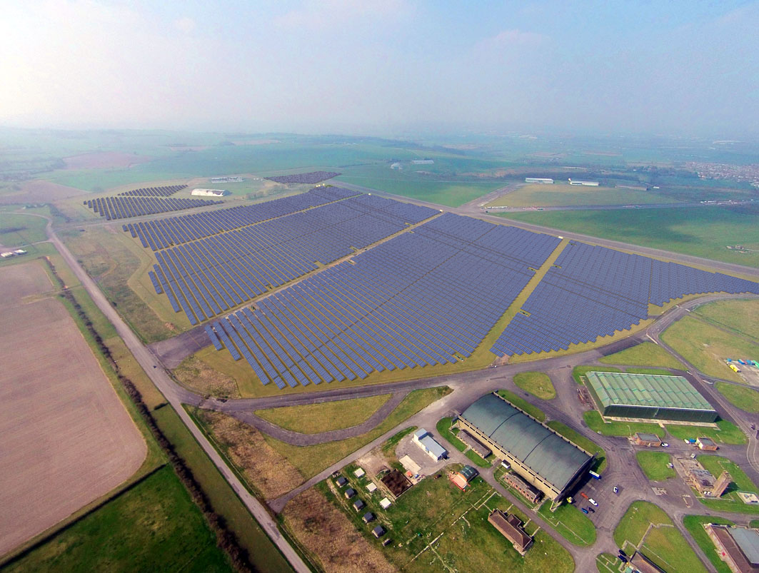 HSBC's UK operations are already powered by the Swindon Solar Farm. Source: Science Museum Group.