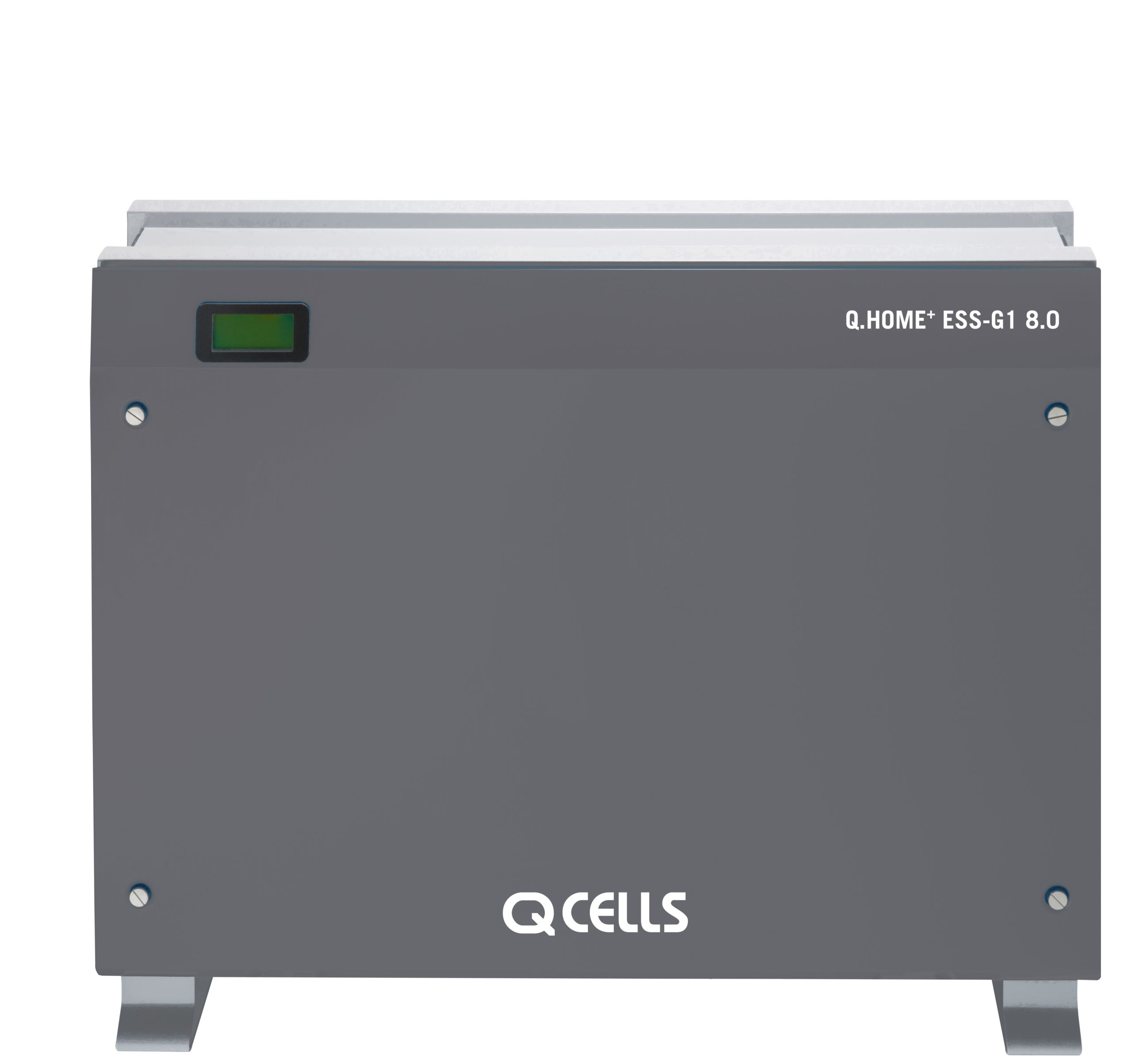 The Q.HOME+ ESS-G1 energy storage series is said to be available in three versions with capacities of 3.6 kWh, 6 kWh or 8 kWh. Image: Hanwha Q CELLS.