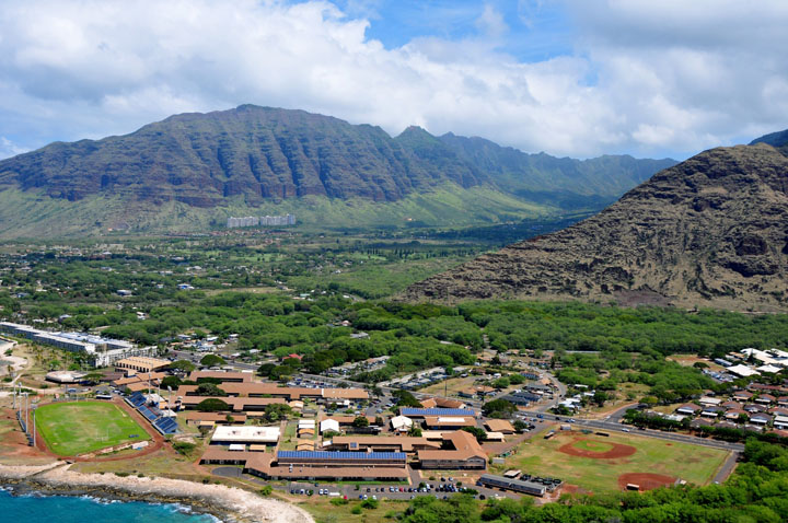 Coming online earlier this month, the 27.6MW Waianae Solar project is the Island's largest renewable effort. Source: Hawaii Pacific Solar