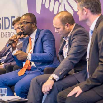 Experts from Solarcentury, First Solar, Energydatar and the RECP revealed ways that willing market entrants can surmount Africa's chronic issues to exploit its solar potential. Source:Jen Jones/Moxy Int