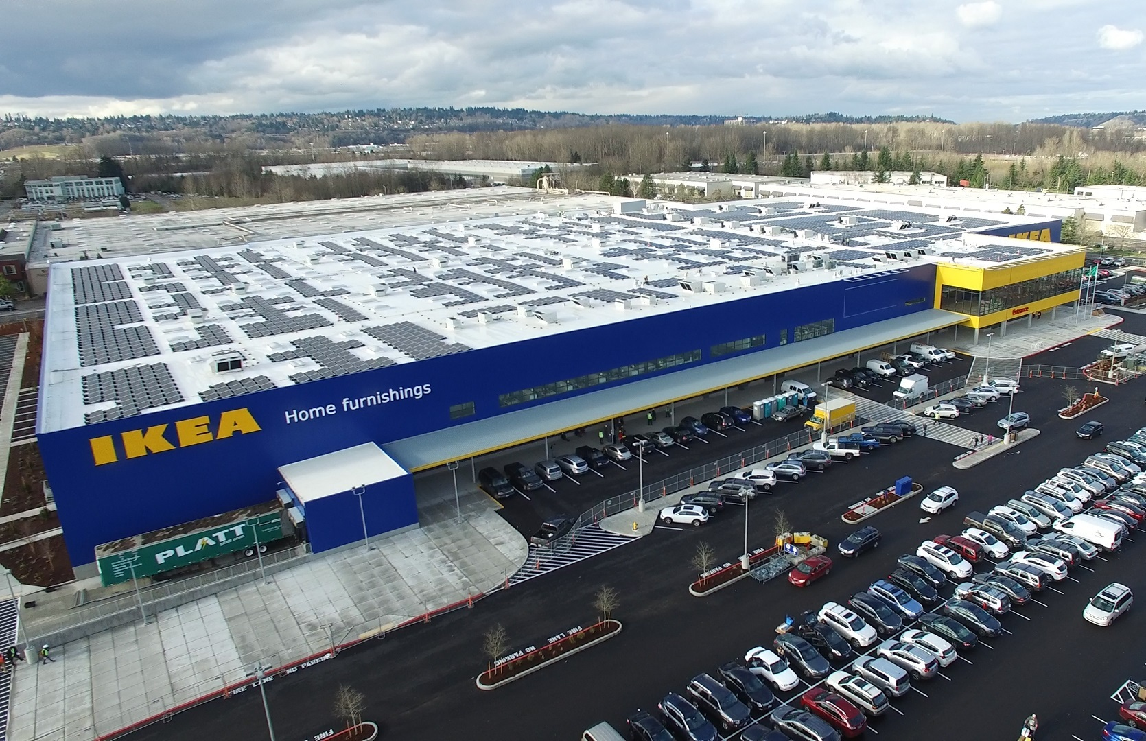 This array represents the 45th solar project for IKEA in the US, contributing to the IKEA solar presence atop nearly 90% of its US locations. Source: Business Wire