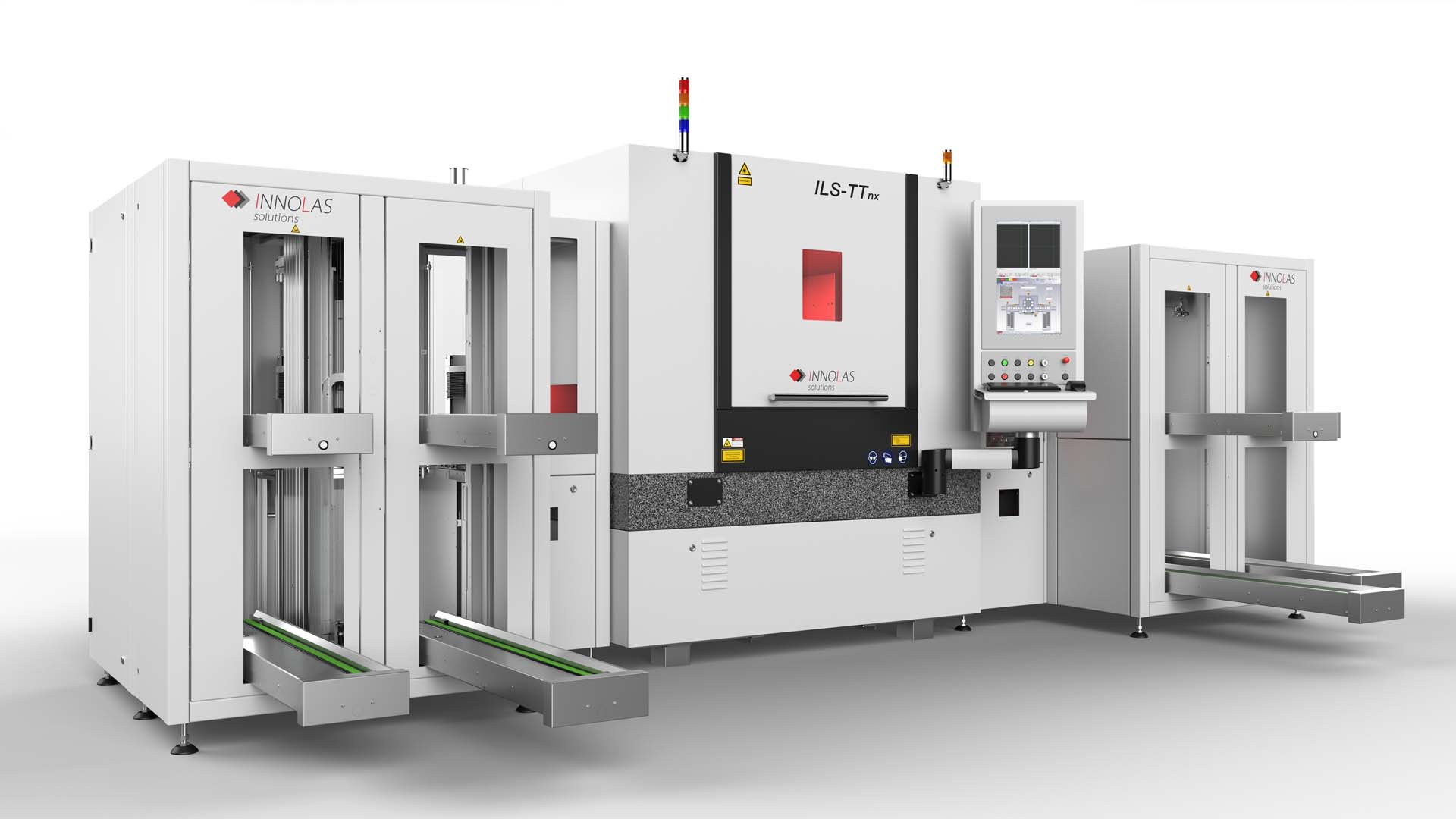 The enabling innovation for the ILST-Tnx comes out of InnoLas know how in laser optics, such as multi-beam splitting as well as multi-pattern scanning.