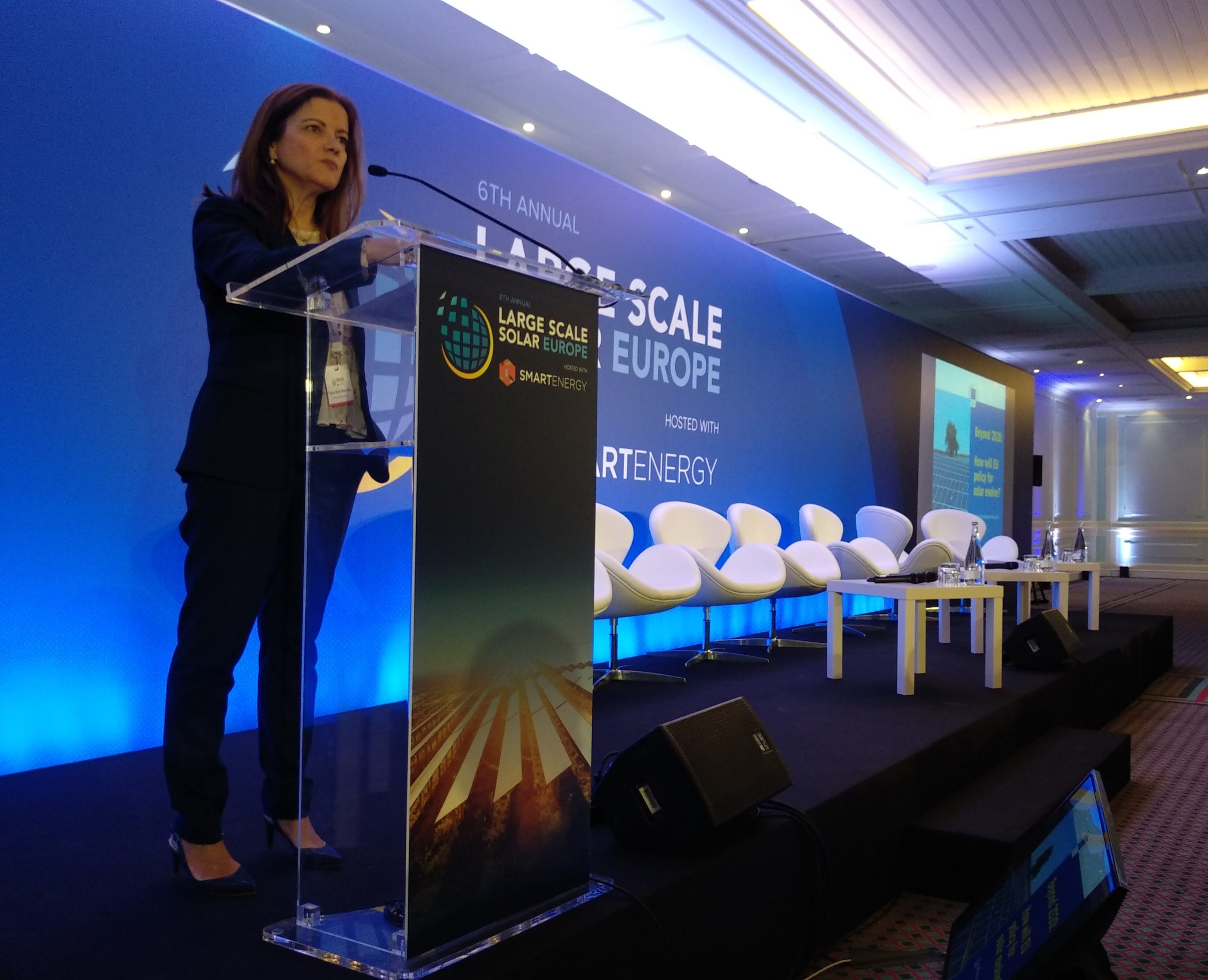 It is the Commission's goal to bring solar manufacturing back to EU, Abreu said (Credit: Solar Media)