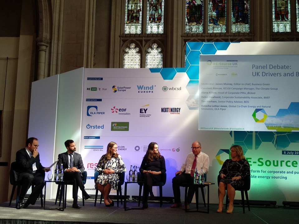 Solar will be the clean energy source 'flourishing' in UK PPAs going forward, the event heard (Credit: Solar Media)