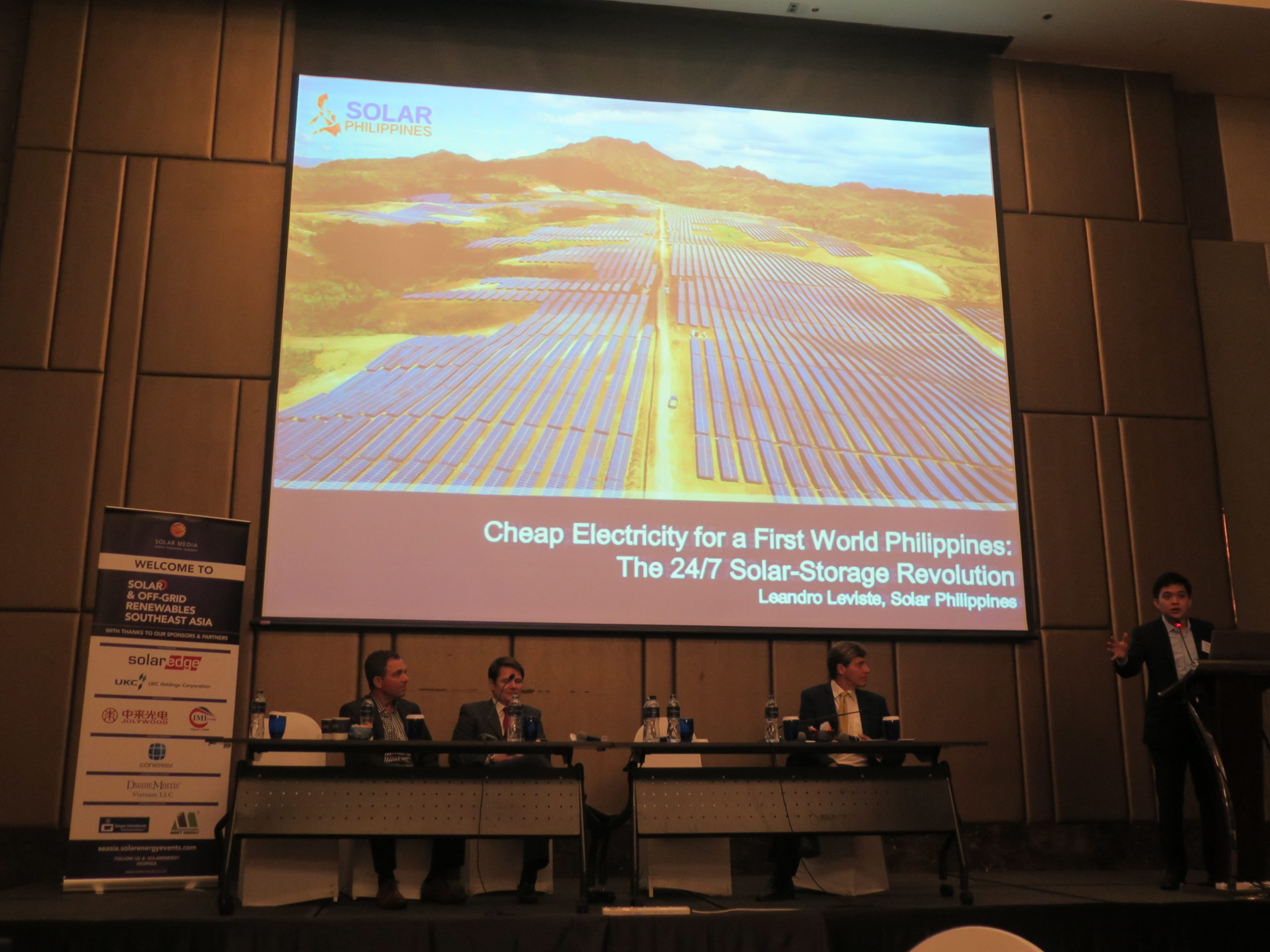 The opening day of Solar and Off-Grid Renewables Southeast Asia event in Bangkok. Credit: Solar Media