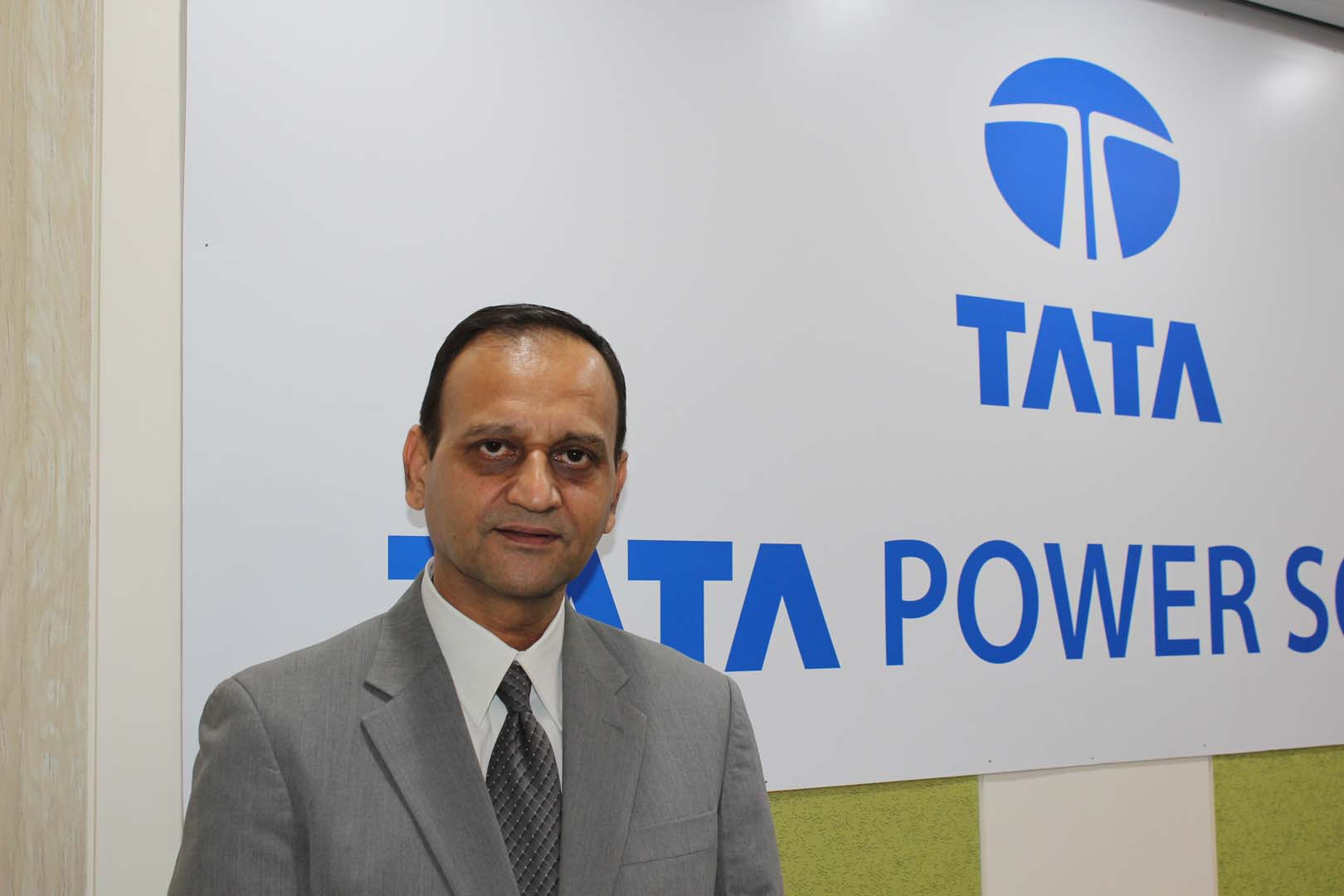 Ashish Khanna, executive director and CEO, Tata Power Solar, said the industry requires continuous investment in technologies.  Credit: Tom Kenning