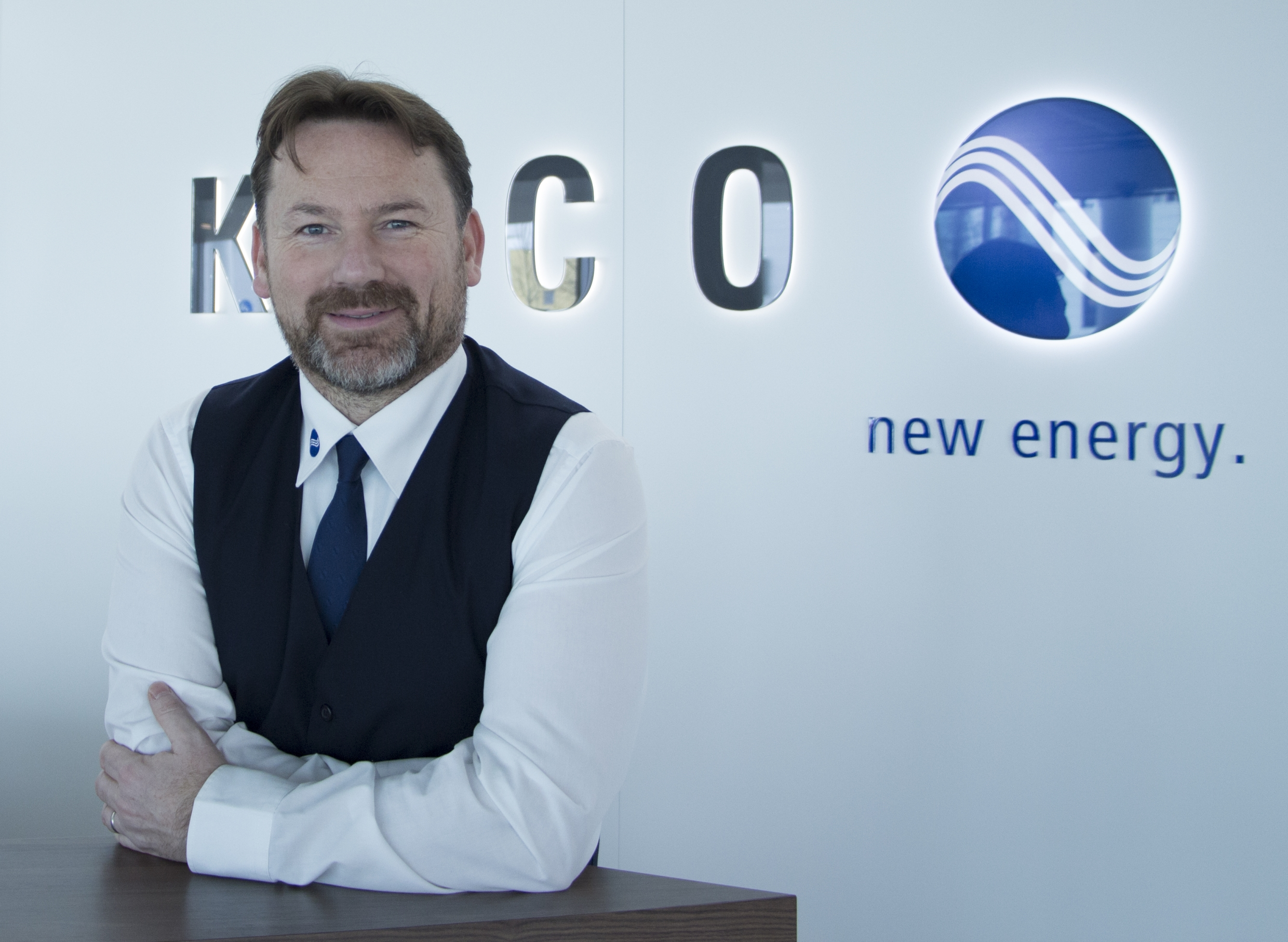 New Asian territory manager Andrew Walsh. Source: KACO New Energy