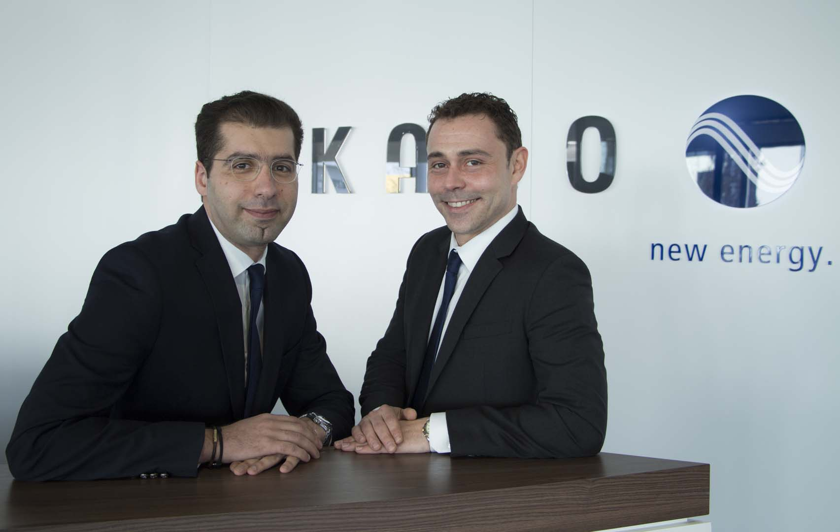 KACO new energy welcomes new sales specialists: Boualem Benelfoul and Philipp Leclerc. Source: KACO New Energy