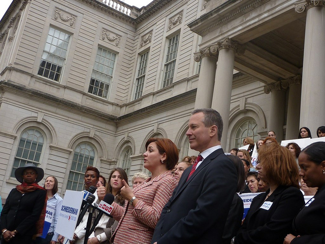 New York Attorney General Eric Schneiderman is leading the 15 state coalition that threatens legal action should Trump axe the Plan. Source: Flickr/Azi Paybarah
