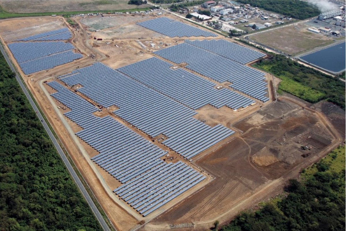 Salinas 11MW PV plant, Puerto Rico. Image: GP Tech.