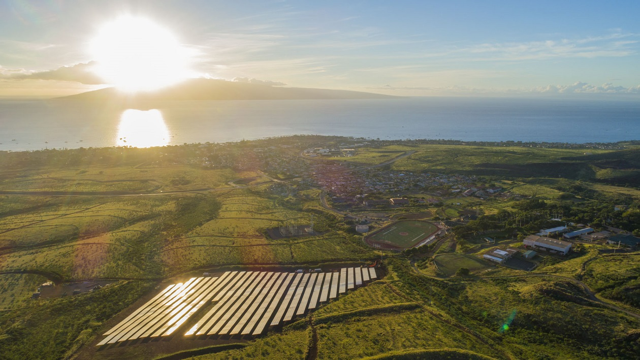 The capacity of the proposed solar-plus-storage projects ranges from 7 - 120MW. Image: Hawaiian Electric/Twitter.