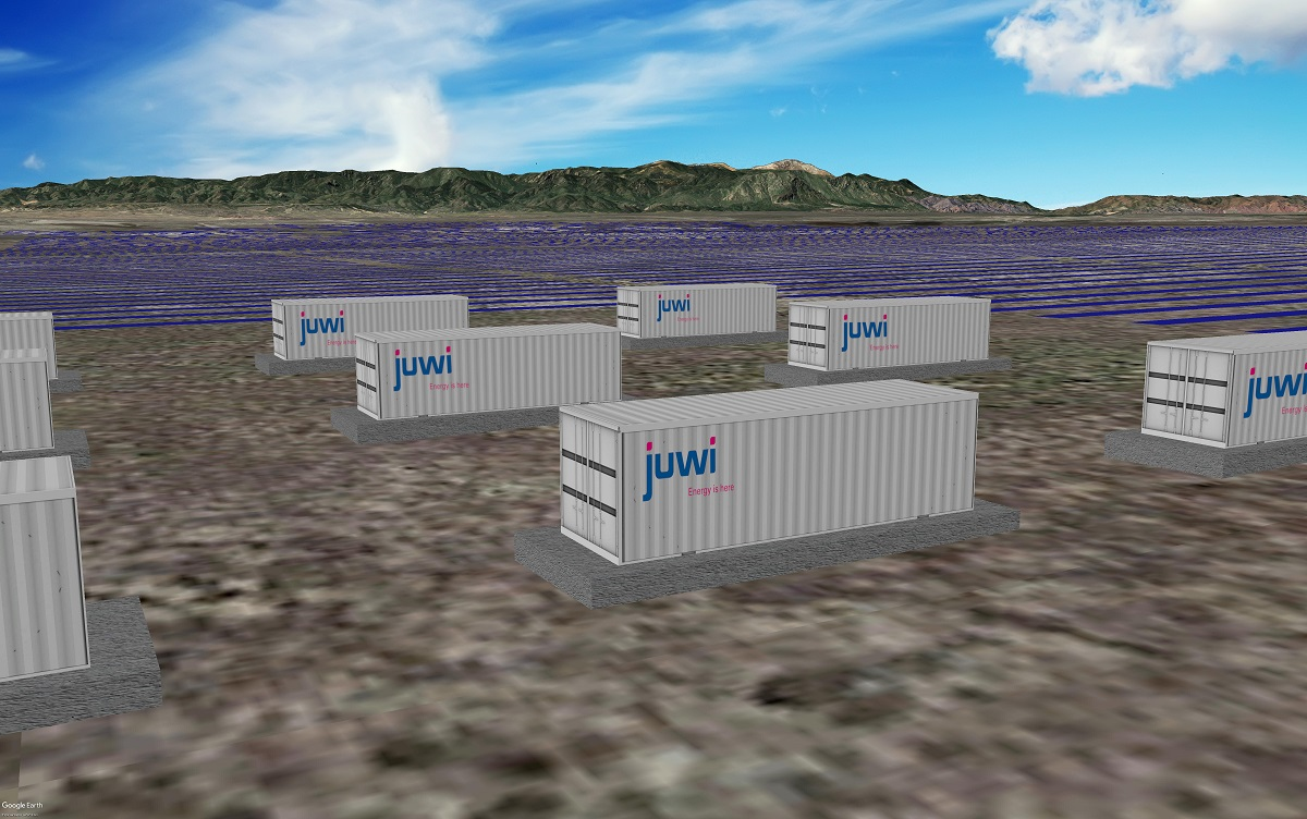 The Pike Solar and Storage facility will be constructed in El Paso County, Colorado. Image: juwi.